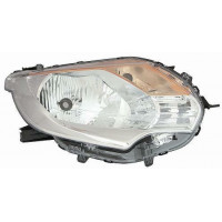 Headlight left front headlight for Mitsubishi L200 2015 onwards for Fiat fullback 2016 onwards chrome Lucana Headlights and l...