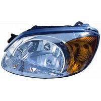 Headlight left front headlight for Hyundai Accent 2002 to 2006 4/5 Doors orange arrow Lucana Headlights and Lights