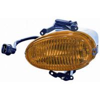 Fog lights left headlight for Hyundai Atos 1998 to 2003 amber glass Lucana Headlights and Lights