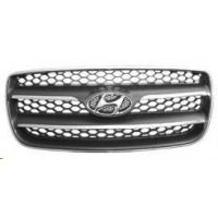 Bezel front grille to Hyundai santafe 2006 to 2010 chrome Lucana Bumper and accessories