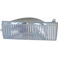 Headlight left for jeep Cherokee 1984 to 1996 white Lucana Headlights and Lights