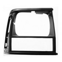Frame Right Headlight for jeep Cherokee 1993 to 1996 black Lucana Bumper and accessories
