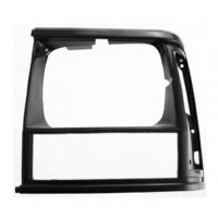 Frame left headlight for jeep Cherokee 1993 to 1996 black Lucana Bumper and accessories