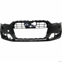 Front bumper AUDI A6 2014 onwards with headlight washer holes Lucana Bumper and accessories