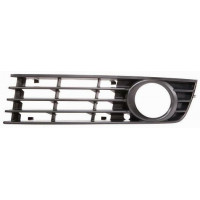 Left grille front bumper for AUDI A4 2000 to 2004 with hole Lucana Bumper and accessories