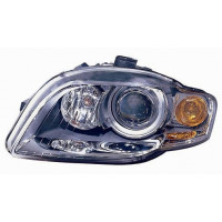 Headlight right front headlight for AUDI A4 2004 to 2007 orange xenon Lucana Headlights and Lights
