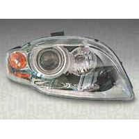 Headlight left front headlight for AUDI A4 2004 to 2006 xenon orange with controller marelli Headlights and Lights