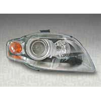 Headlight right front headlight for AUDI A4 2004 to 2006 AFS xenon orange marelli Headlights and Lights