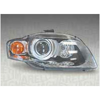Headlight right front headlight for AUDI A4 2004 to 2006 orange Xenon marelli Headlights and Lights