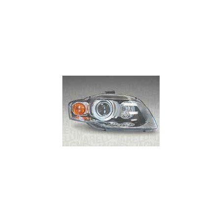 Headlight left front headlight for AUDI A4 2004 to 2006 orange Xenon marelli Headlights and Lights