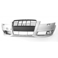 Front bumper for AUDI A6 2004 to 2008 with holes sensors park Lucana Bumper and accessories