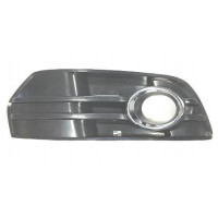 Right grille front bumper for AUDI Q5 2008 to 2012 with hole chrome fog Lucana Bumper and accessories