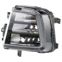 Fog lights left headlight for vw scirocco 2014 onwards with drl clear hella Headlights and Lights