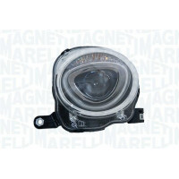 Headlight left front headlight for Fiat 500 2015 in then top