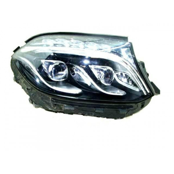 Headlight left front headlight for mercedes gls x166 2015 onwards led marelli Headlights and lights