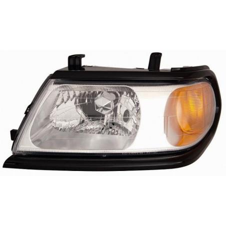 Right headlight for Mitsubishi Pajero sport 1999 onwards black bezel Aftermarket Lighting