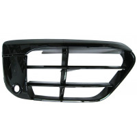 Right grille front bumper BMW X1 f48 2015 onwards sport black gloss with sensor hole Lucana Bumper and accessories