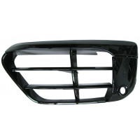 Left grille front bumper BMW X1 f48 2015 onwards sport black gloss with sensor hole Lucana Bumper and accessories