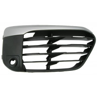 Right grille front bumper BMW X1 f48 2015 onwards x-line with sensor hole Lucana Bumper and accessories