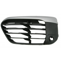 Left grille front bumper BMW X1 f48 2015 onwards x-line with sensor hole Lucana Bumper and accessories