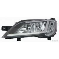 Headlight right front headlight ducato jumper 2014 onwards chrome bezel Lucana Headlights and Lights