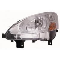 Faro luz proyector delantero izquierdo para Peugeot partner 2013 en adelante cromato