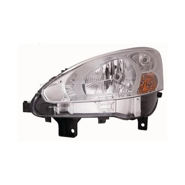 Faro luz proyector delantero izquierdo para Peugeot partner 2013 en adelante cromato Lucana Faros y luz