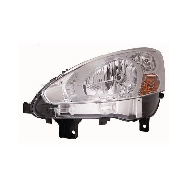 Headlight left front headlight for Peugeot partner 2013 onwards chrome Lucana Headlights and Lights