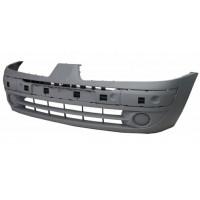 Front bumper for renault clio 2001 to 2005 with predisposition front fog lights Lucana Bumper and accessories