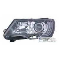 Headlight left front headlight for Skoda Superb 2013 to 2014 Halogen hella Headlights and Lights