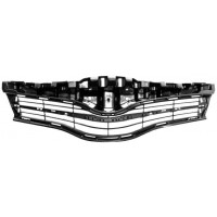 Bezel front grille for toyota yaris 2011 to 2014 with holes trim