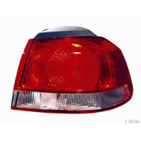 Tail light rear right VW Golf 6 2008 to white outer red mod. Valeo Lucana Headlights and Lights
