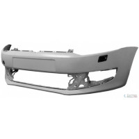 Front bumper VW Polo 2009 onwards c/Headlight Washer Holes Lucana Bumper and accessories