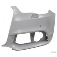 Corner front bumper left AUDI A1 2010 onwards headlight washer holes and sensors Lucana Bumper and accessories