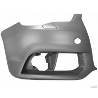 Corner front bumper right AUDI A1 2010 onwards with headlight washer holes Lucana Bumper and accessories