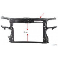 Backbone front trim AUDI A3 2003 onwards 3 doors and 2005 to 2008 3/5 Doors v6 Lucana Plates and Frameworks