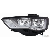 Headlight left front AUDI A3 2012 onwards halogen eco Lucana Headlights and Lights
