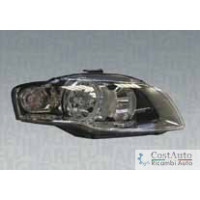 Headlight right front AUDI A4 2006 to 2007 Halogen marelli Headlights and Lights