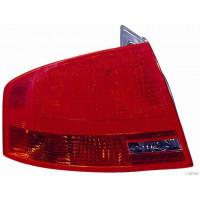 Tail light rear left AUDI A4 2005 to 2007 external sw Lucana Headlights and Lights
