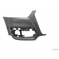 Corner front bumper right AUDI Q3 2011- with holes sensors+headlight washer Lucana Bumper and accessories