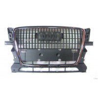 Bezel front grille AUDI Q5 2008 at CROM/gloss black finish Lucana Bumper and accessories