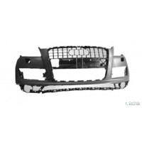 Front bumper AUDI Q7 2009 onwards with headlight washer holes Lucana Bumper and accessories