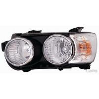 Headlight right front Chevrolet Aveo 2011 to corn chrome. Lucana Headlights and Lights