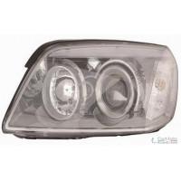 Headlight left front Chevrolet Captiva 2006 onwards black Lucana Headlights and Lights