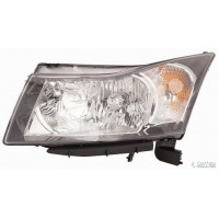 Headlight left front Chevrolet Cruze 2009 onwards Lucana Headlights and Lights