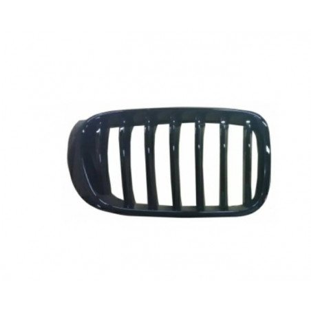 Front bezel left for x4 f26 2014 - x3 f25 2014 - m-tech glossy black Aftermarket Bumpers and accessories