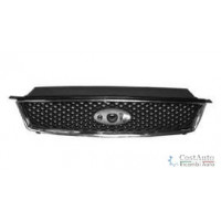 Bezel front grille for Ford C-Max 2003 to 2007 chrome and black Lucana Bumper and accessories