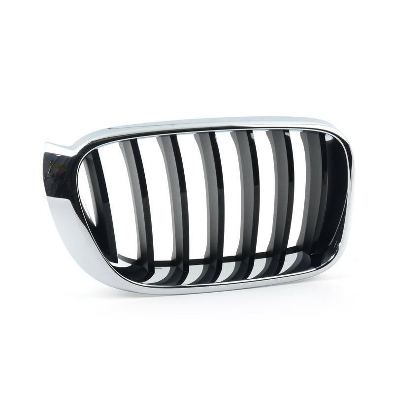 Grille screen front right x4 f26 x3 f25 2014- basis Black Chrome Aftermarket Bumpers and accessories