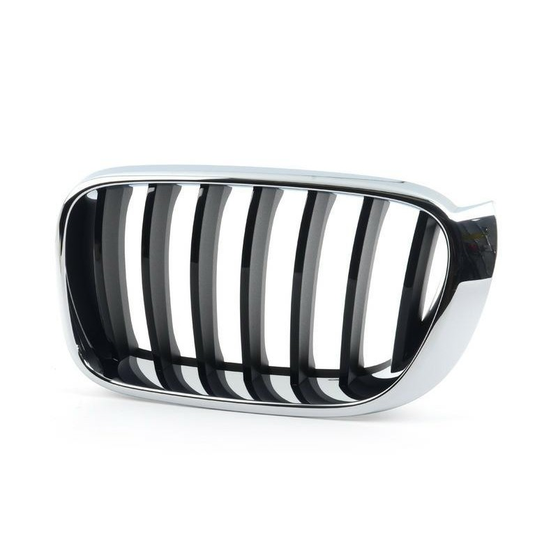 Grille screen front left for x4 f26 x3 f25 2014- basis Black Chrome Aftermarket Bumpers and accessories