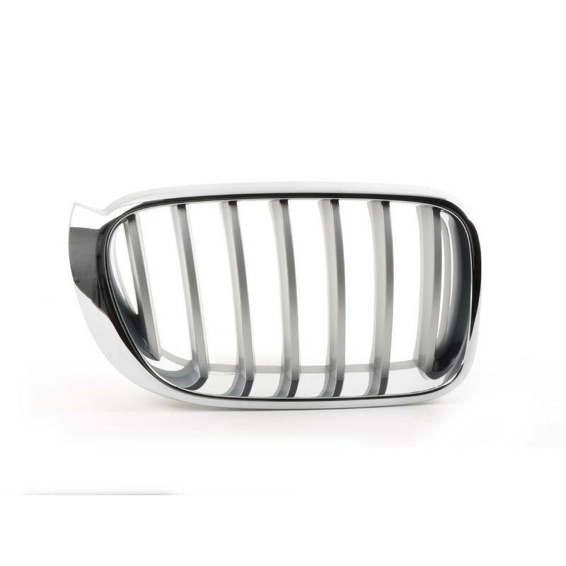 Grille screen right front for BMW X4 f26 x3 f25 2014- X-line chrome Aftermarket Bumpers and accessories
